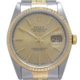 ROLEX ロレックス オイスター パーペチュアル デイトジャスト L番 1988年製 16233 腕時計 ステンレススチール シャンパン文字盤 メンズ DH46548 大黒屋質店出品  中古 送料無料