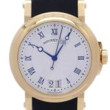 Breguet ブレゲ マリーンII ラージデイト 5817BA/12/9V8 腕時計 750イエローゴールド シルバー ギョーシェ 文字盤 メンズ DH47224 大黒屋質店出品  中古 送料無料
