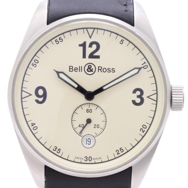 ベル&ロス BELL&ROSS ・ヴィンテージ 123 ベージュ オートマ