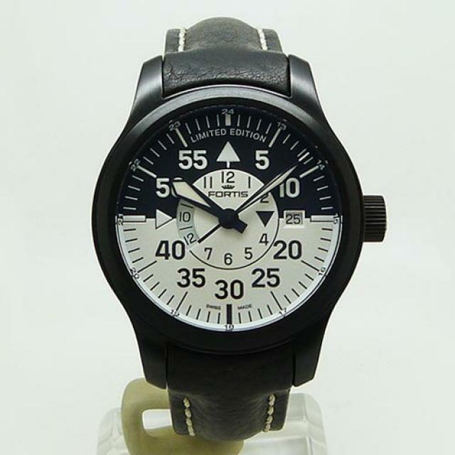 フォルティス FORTIS 672.18.11 B-42 フリーガーGMT 世界限定2012本 未使用品