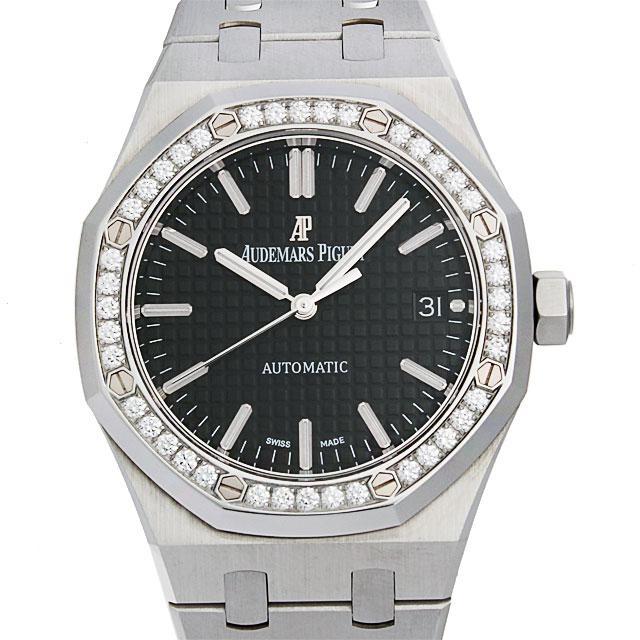 オーデマピゲ ロイヤルオーク ベゼルダイヤ 15451ST.ZZ.1256ST.01 ボーイズ(ユニセックス)(006XAPAU0001) 中古 腕時計 送料無料
