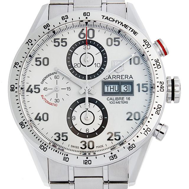 タグホイヤー カレラ タキメーター クロノグラフ デイデイト CV2A11.BA0796 メンズ(006NTHAU0001) 中古 腕時計 送料無料