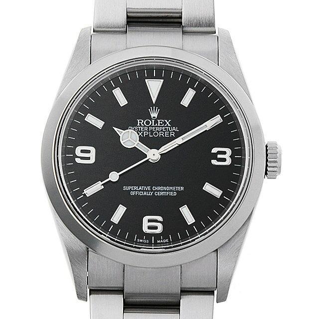 ロレックス エクスプローラーI 114270 Y番 メンズ(006XROAU0970) 中古 腕時計 送料無料