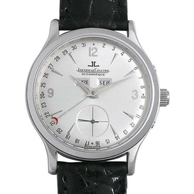 ジャガールクルト マスターデイト Q147842A メンズ(0BCCJLAU0004) 中古 腕時計 送料無料