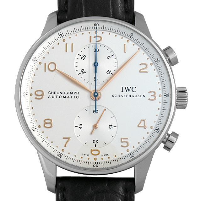 IWC ポルトギーゼ クロノグラフ IW371445 メンズ(027MIWAU0001) 中古 腕時計 送料無料 5000円オフクーポン配布中