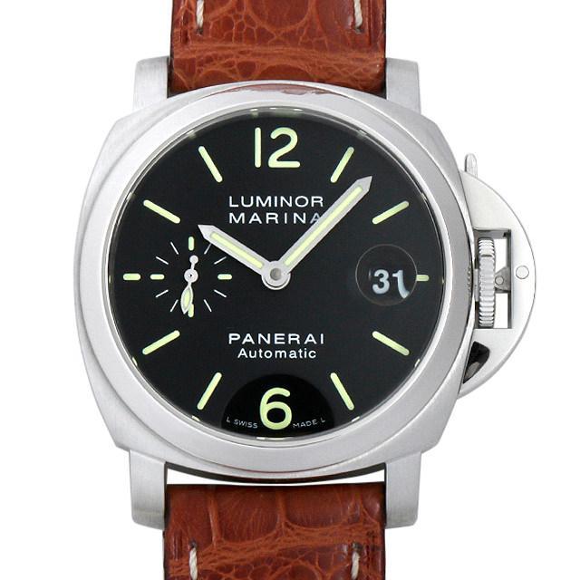 パネライ ルミノールマリーナ L番 PAM00048 メンズ(0FK9OPAU0001) 中古 腕時計 送料無料