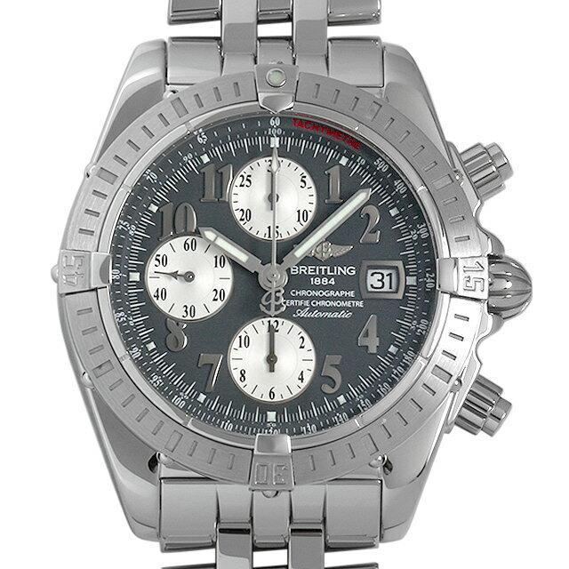 ブライトリング クロノマット エボリューション A156B22PA(A13356) メンズ(007UBRAU0083) 中古 腕時計 送料無料
