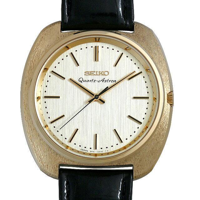 セイコー ヒストリカルコレクション クォーツ アストロン 限定500本 SCQZ002 メンズ(0DF7SEAU0003) 中古 腕時計 送料無料