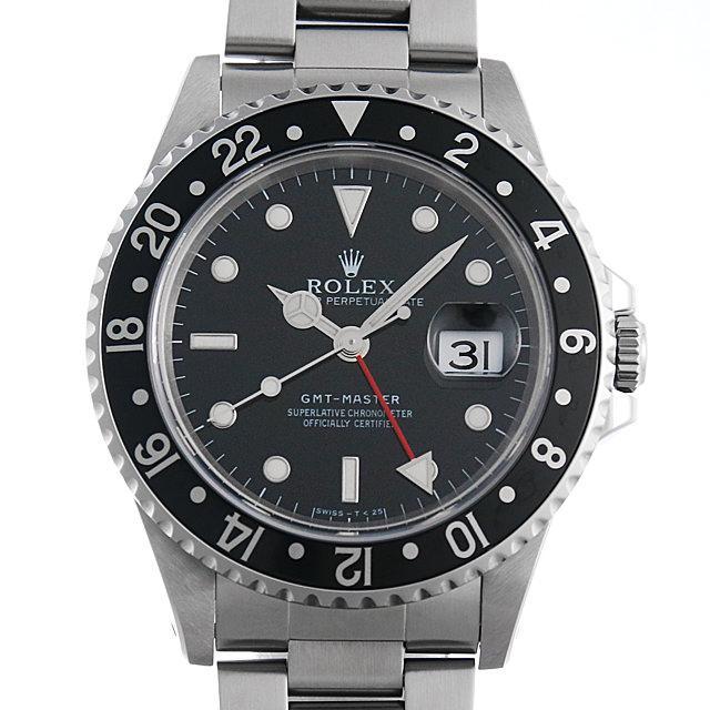 ロレックス GMTマスター 黒ベゼル U番 16700 メンズ(006XROAU0585) 中古 腕時計 送料無料