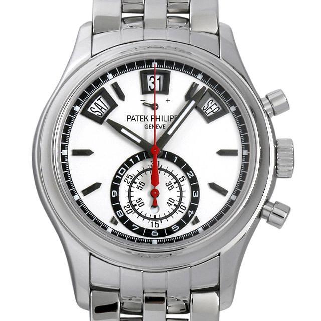 パテックフィリップ アニュアルカレンダー クロノグラフ 5960/1A-001 メンズ(007UPPAU0085) 中古 腕時計 送料無料