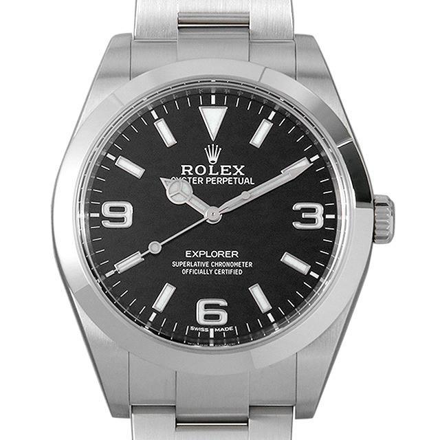 ロレックス エクスプローラー 214270 最新型 メンズ(0A89ROAU0064) 中古 腕時計 送料無料