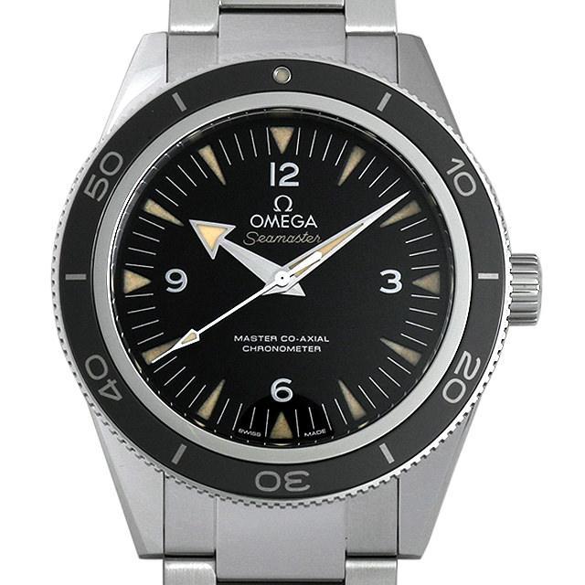オメガ シーマスター 300M マスターコーアクシャル 233.30.41.21.01.001 メンズ(06JAOMAU0001) 中古 腕時計 送料無料