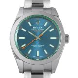ロレックス ミルガウス 116400GV Zブルー メンズ(006XROAU0696) 中古 腕時計 送料無料
