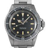ロレックス サブマリーナ 16番 5513 メンズ(007UROAA0054) アンティーク 腕時計 送料無料