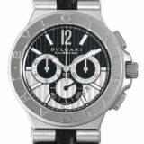 ブルガリ ディアゴノ カリブロ303 DG42BSLDCH メンズ(007UBVAU0006) 中古 腕時計 送料無料