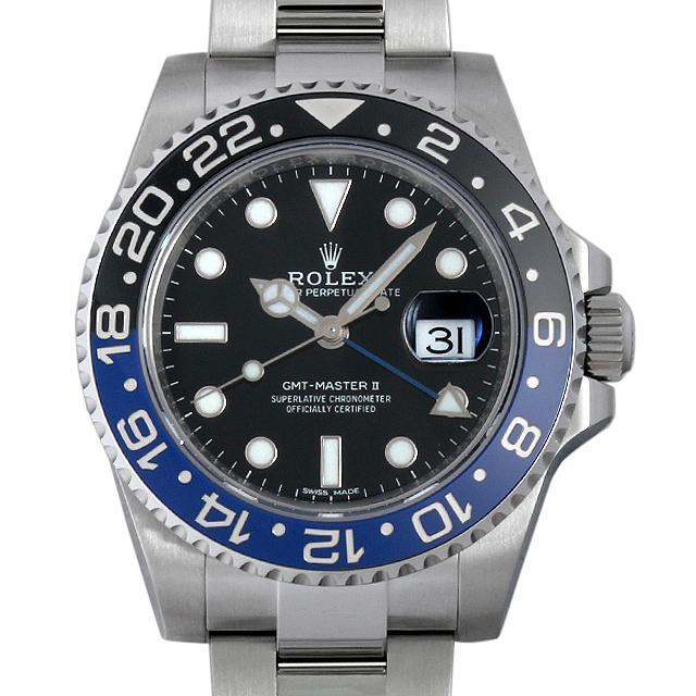 ロレックス GMTマスターII 116710BLNR メンズ(002XROAS0005) 中古 未使用 腕時計 送料無料