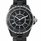 シャネル J12 黒セラミック H0685 メンズ(006XCHAU0032) 中古 腕時計 送料無料