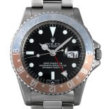 ロレックス GMTマスター 14番 1675 メンズ(044MROAA0002) アンティーク 腕時計 送料無料
