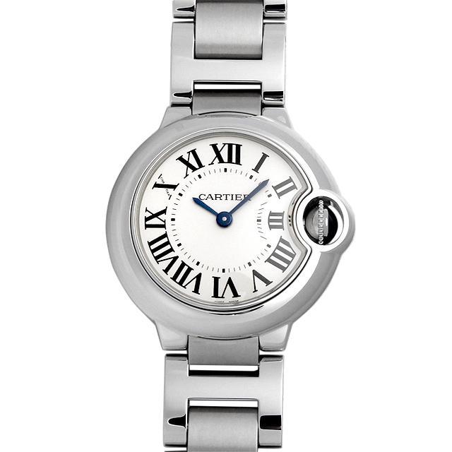 カルティエ バロンブルー SM W69010Z4 レディース(009FCAAS0018) 中古 未使用 腕時計 送料無料