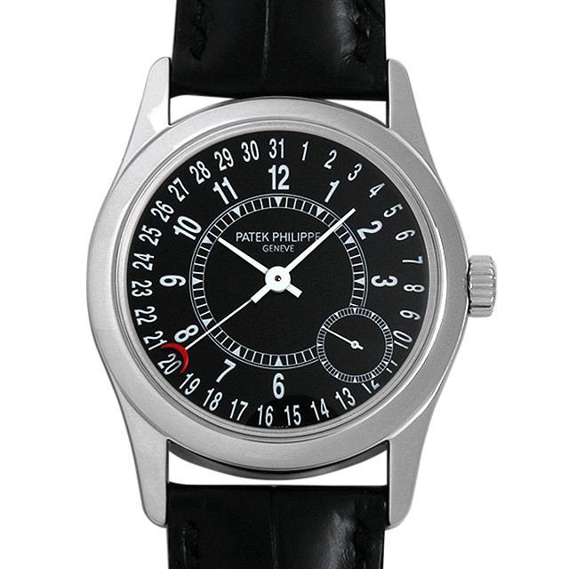 パテックフィリップ カラトラバ 6000G-001 メンズ(0291PPAU0001) 中古 腕時計 送料無料