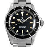 ロレックス サブマリーナ Cal.1520 30番 5513 フチなし フィートファースト メンズ(0FB6ROAA0001) アンティーク 腕時計 送料無料