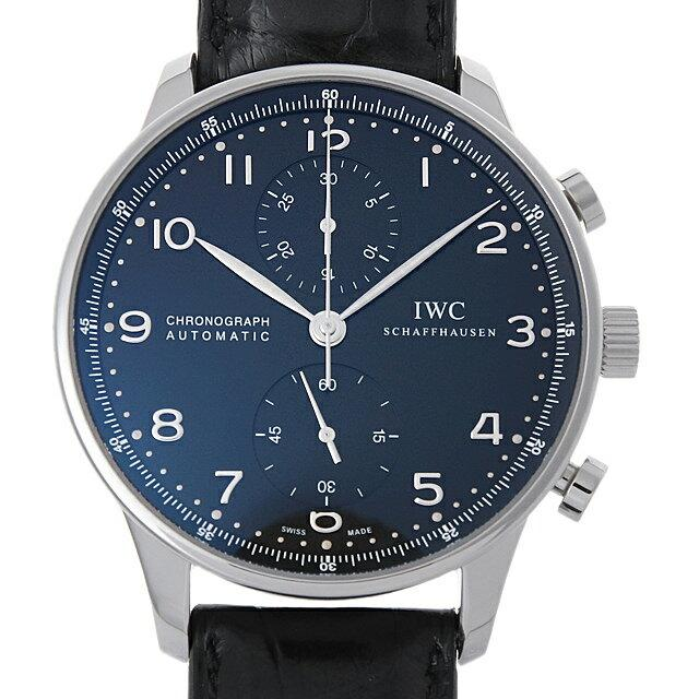 IWC ポルトギーゼ クロノグラフ IW371447 メンズ(006XIWAU0135) 中古 腕時計 送料無料