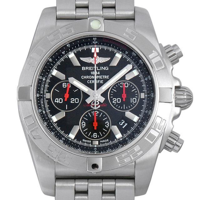 ブライトリング クロノマット01 限定2000本 S013B50PA(AB0111) メンズ(008WBRAU0042) 中古 腕時計 送料無料