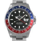 ロレックス GMTマスターII 16710 スティックダイアル Z番 メンズ(0094ROAU0020) 中古 腕時計 送料無料 48回払いまで無金利 最大9万円オフクーポン配布!12/1(土)0時開始!