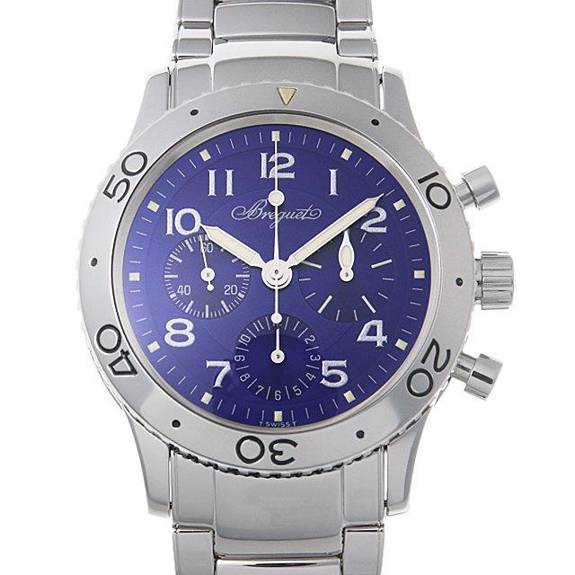 ブレゲ アエロナバル 世界限定1000本 3807ST/J2/SW9 メンズ(0014BCAU0008) 中古 腕時計 送料無料
