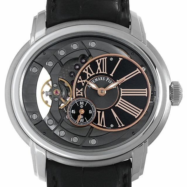 オーデマピゲ ミレネリー4101 15350ST.OO.D002CR.01 メンズ(007UAPAU0052) 中古 腕時計 送料無料 SALE