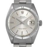 ロレックス オイスターパーペチュアル デイト 14番 1501 シルバー/バー メンズ(0050ROAA0013) アンティーク 腕時計 送料無料