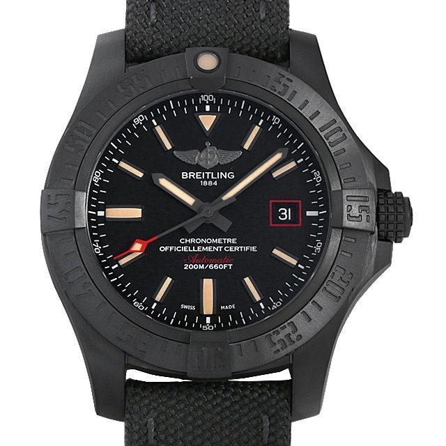 ブライトリング アベンジャー ブラックバード 44 V171B74MMA(V17311) メンズ(001HBRAU0066) 中古 腕時計 送料無料 5000円オフクーポン配布中