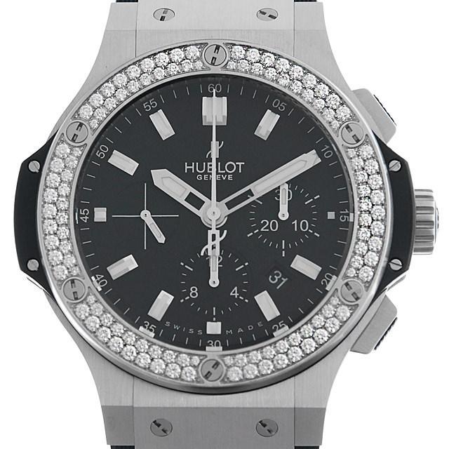 ウブロ ビッグバン スティール ダイヤモンド 301.SX.1170.RX.1104 メンズ(007UHBAU0050) 中古 腕時計 送料無料