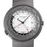ポルシェデザイン ワールドタイム 3822-002 メンズ(008WPOAU0005) 中古 腕時計 送料無料