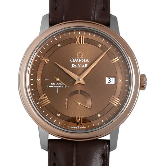 オメガ デ・ヴィル プレステージ コーアクシャル パワーリザーブ 424.23.40.21.13.001 メンズ(002GOMAR0048) 新品 腕時計 送料無料