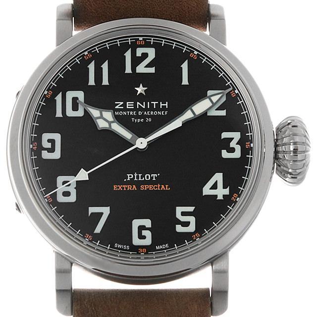 ゼニス パイロット タイプ20 エクストラスペシャル 03.2430.3000/21.C738 メンズ(0BCCZHAU0002) 中古 腕時計 送料無料
