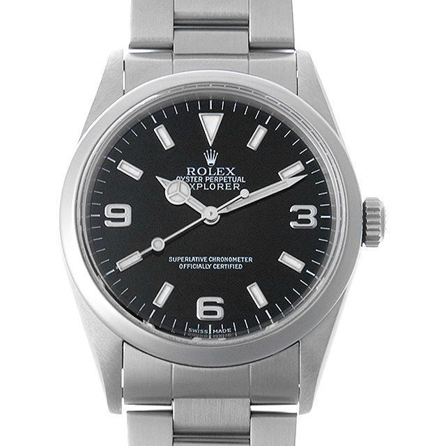 ロレックス エクスプローラーI P番 14270 メンズ(007UROAU0258) 中古 腕時計 送料無料