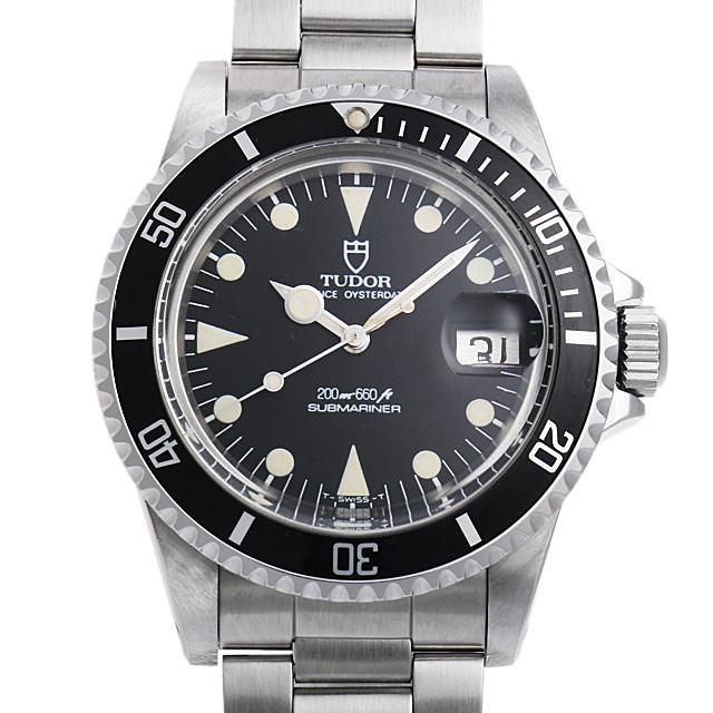 チュードル サブマリーナデイト 76100 ロリポップ メンズ(001HTUAU0002) 中古 腕時計 送料無料