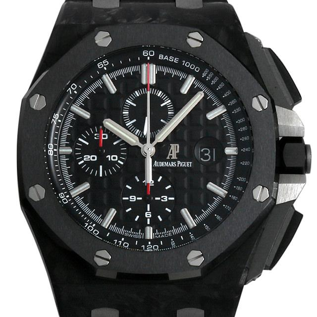 オーデマピゲ ロイヤルオーク オフショア カーボン セラミック 26400AU.OO.A002CA.01 メンズ(007UAPAU0032) 中古 腕時計 送料無料