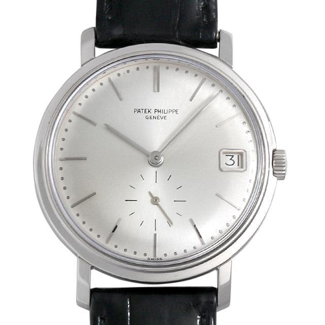 パテックフィリップ カラトラバ cal 27-460M 3445G-001 メンズ(007UPPAA0008) アンティーク 腕時計 送料無料
