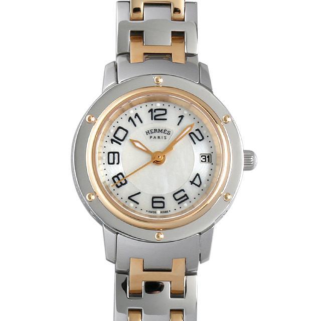 エルメス クリッパー CP1.220 レディース(001HHEAU0009) 中古 腕時計 送料無料