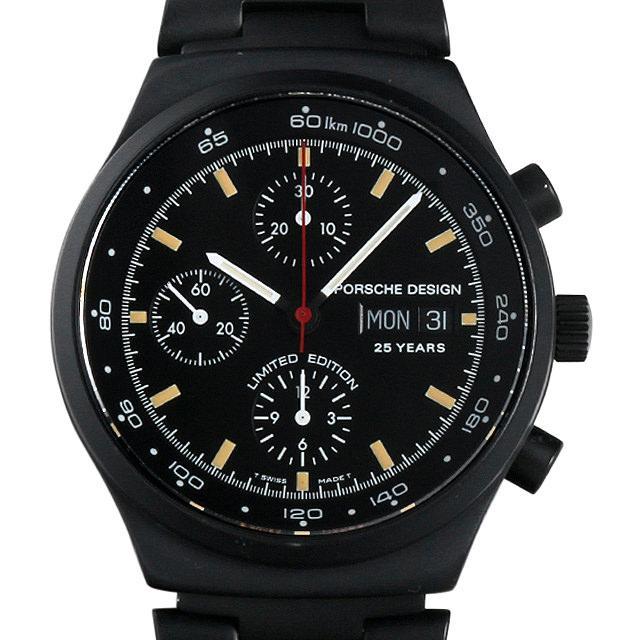 ポルシェデザイン ヘリテージ クロノグラフ 25周年記念 6625.11 メンズ(0915POAU0001) 中古 腕時計 送料無料