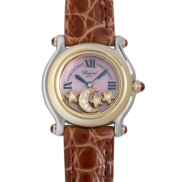 ショパール ハッピースポーツ 27/8246-21 レディース(007UCPAU0022) 中古 腕時計 送料無料