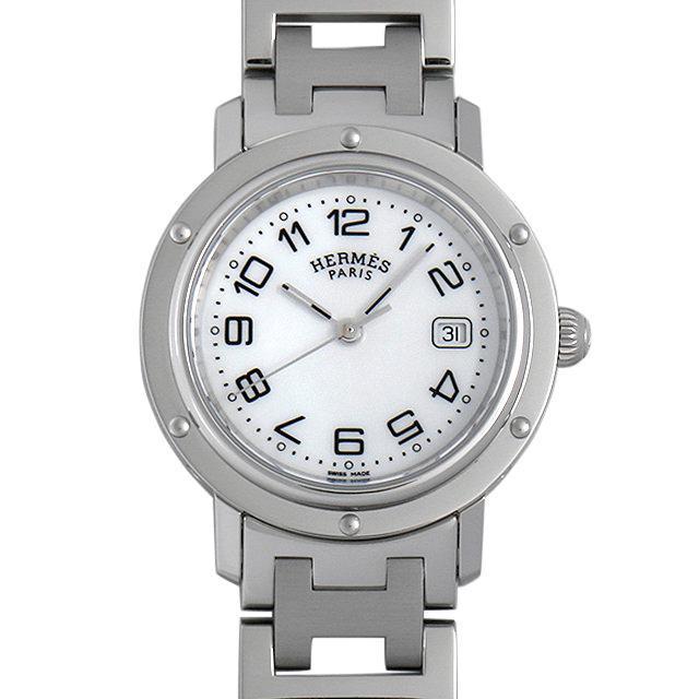 エルメス クリッパー CL6.410 レディース(006THEAU0002) 中古 腕時計 送料無料