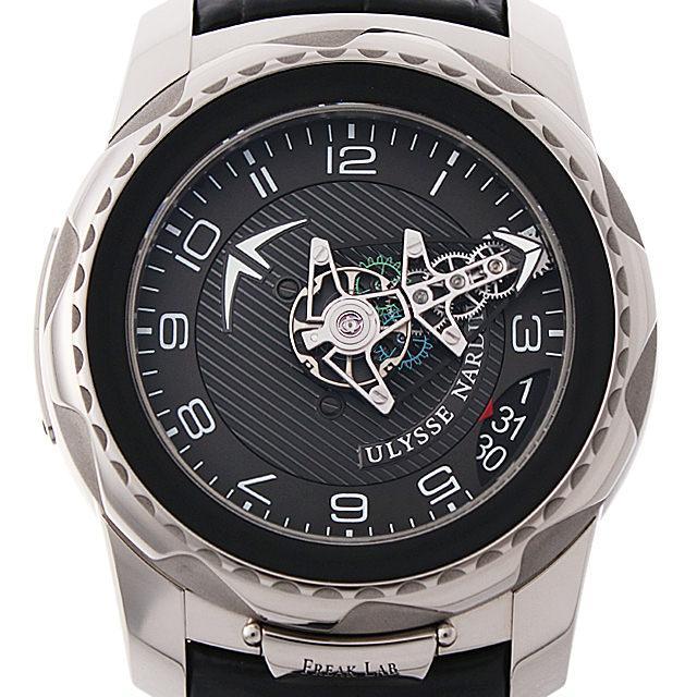 ユリスナルダン フリーク ラボ 2100-138 メンズ(0J97UNAU0001) 中古 腕時計 送料無料