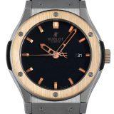 ウブロ クラシックフュージョン チタニウム キングゴールド 542.NO.1180.RX メンズ(007UHBAU0056) 中古 腕時計 送料無料