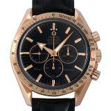 オメガ スピードマスター ブロードアロー レッドゴールド シューマッハ 3659.50.31 メンズ(007UOMAU0024) 中古 腕時計 送料無料