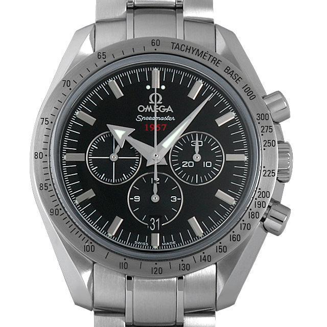 オメガ スピードマスター ブロードアロー 50周年記念モデル 321.10.42.50.01.001 メンズ(0063OMAS0002) 中古 未使用 腕時計 送料無料