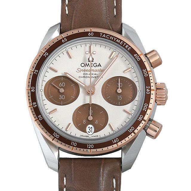 オメガ スピードマスター38 コーアクシャル クロノグラフ 324.23.38.50.02.002 ボーイズ(ユニセックス)(006MOMAR0022) 新品 腕時計 送料無料