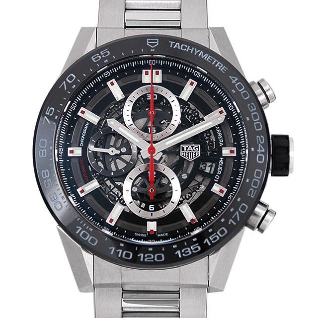 タグホイヤー カレラ キャリバー ホイヤー01 CAR2A1W.BA0703 メンズ(008WTHAU0020) 中古 腕時計 送料無料